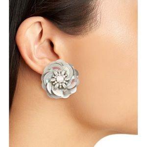 Kate Spade snowy nights sequin statement earrings